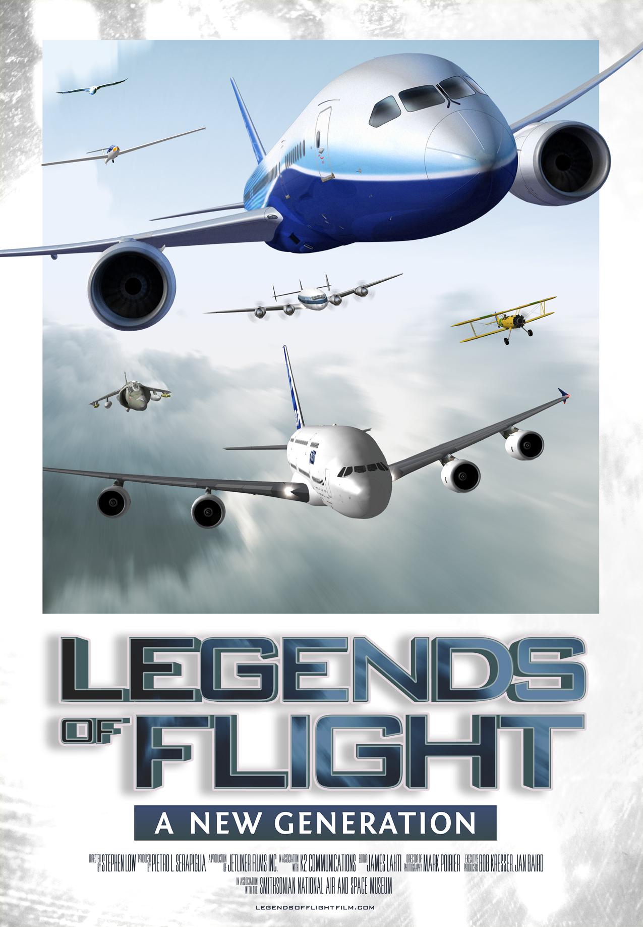 Legends of Flight Marketing Materials